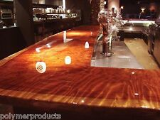 EPOXY RESIN  RESTAURANT BARTOP TABLETOP COATING & EMBEDDING CRYSTAL CLEAR 48 OZ