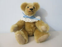 Handmade OOAK Coventry Crafts Mohair Jointed Teddy Bear Worcester, MA 1990