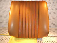 Mercedes Early W116 front Right P seat MB tex Orange Bamboo back 1 Cover,Type #1