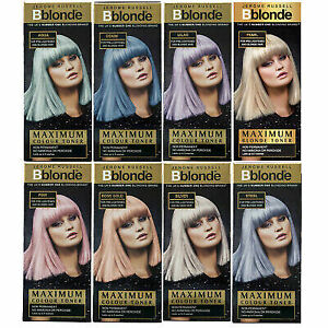 JEROME RUSSELL BBLONDE MAXIMUM COLOUR TONER 75ML NON PERMANENT NO AMMONIA