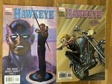 Original US-Marvel-Comics Hawkeye #1-3 ((2003)