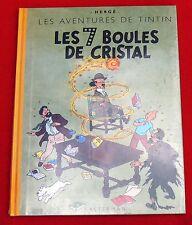 Hergé. Les 7 Boules de Cristal. Fac similé EO couleurs de 1948. Tirage juin 2001