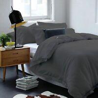 Gainsborough Harper 100% Cotton Waffle Quilt Cover Set Slate