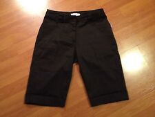Golf Shorts by Titania, Size 4, Black, Stretch, Fitted Bermuda, Pockets,Orig $49
