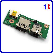 Connecteur alimentation + carte USB ASUS  X401A-RBL4   DC POWER JACK   BOARD