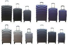 Unbranded Waterproof Spinner (4) Wheels Suitcases