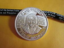 "Elvis Presley ""A Great American"" 1 oz .999 fine  Silver Round Teddy Bear"
