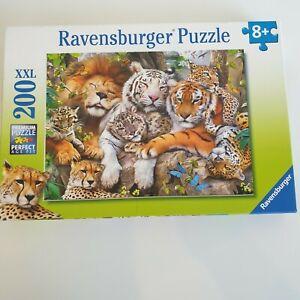 Ravensburger Puzzle Big Cats 200 XXL Pieces (127214)