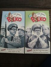 cbs video SGT. BILKO volume 1-2 on vhs tape  played1x&stored