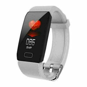 Q1 Smart Watch Fitness Tracker Blood Pressure Heart Rate Monitor Sport Wristband