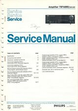 PHILIPS - 70FA800 00R/05R - Service Manual Schaltbild für Amplifier - B7552