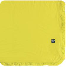 New listing New Kickee Pants Ruffle Toddler Blanket in solid Banana