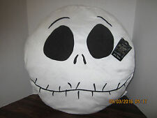 "JACK HEAD 19"" x 18"" Soft Decor Pillow Halloween Nightmare Before Christmas"