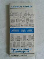 Spaziergänge in Budapest, Corvina Verlag 1978