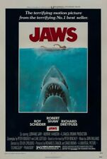 Jaws 1975 Original Lined-Backed Movie Poster 27x41