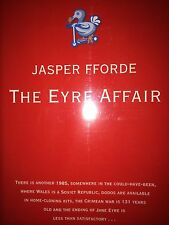 THE EYRE AFFAIR BY JASPER FFORDE *SIGNED*FIRST ED*
