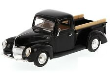 MOTORMAX 73234 1940 40 FORD PICK UP TRUCK 1/24 SCALE DIECAST CAR MODEL BLACK
