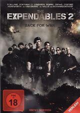 THE EXPENDABLES 2: BACK FOR WAR (Sylvester Stallone) NEU+OVP