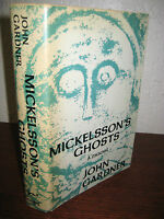 1st Edition Mickelsson's Ghosts John Gardner First Print Illustrated Photographs