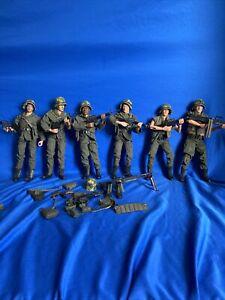 1//6 Scale-Truie Action Figures Vietnam Airborne Ranger-Ceinture Set Avec pistolet
