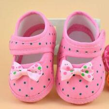 Cute Baby Girls Walker Shoes Bowknot Boots Shoes Autumn Soft Crib Shoes