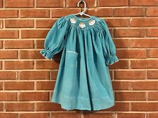 GIRLS SMOCKED CHRISTMAS DRESS FROM AMANDA REMEMBERED SIZE 2