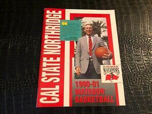 1990-1991 CALIFORNIA NORTHRIDGE - NCAA College Basketball Media Guide - Yearbook