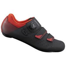 Chaussures Vélo Route Shimano RP4 Boa + 2 bande Noir/Orange/Rouge dispo 38 à 48