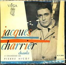 JACQUES CHARRIER EP FRANCE CHANTE PIERRE NICOT