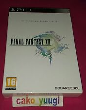 FINAL FANTASY  XIII SONY PS3 EDITION COLLECTOR LIMITEE EN BON ETAT 100% FRANCAIS