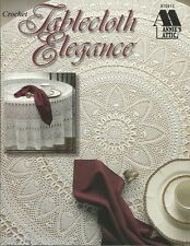 Tablecloth Elegance Crochet Thread Patterns Instructions Annie's Attic1998 NEW