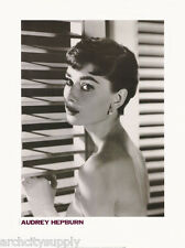 POSTER:ACTRESS: AUDREY HEPBURN - LOOKING OUT WINDOW  - FREE SHIP #68-50037 LW7 F