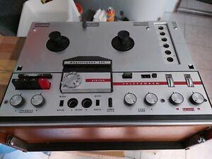 TELEFUNKEN MAGNETOPHON 204 Tonbandgerät 4-Spur 1966 !!!
