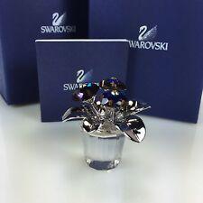 SWAROVSKI FLOWER, BLUE PRIMULA RETIRED 2008 MIB #718985