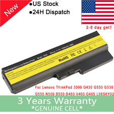 5200mah Battery For Lenovo G430 G450 G530 G550 42T4729 42T4730 42T4726 LO8N6Y02