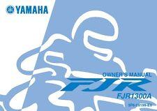 Yamaha Owners Manual Book 2006 FJR1300A