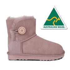 【SALE】AUSTRALIAN MADE Mini Classic Button UGG Boots Premium Australian Sheepskin