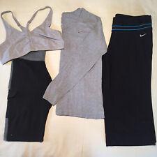 Women lot of 4 Large Workout/yoga Gym Clothes Nike Dri Fit Nike Sports Bra