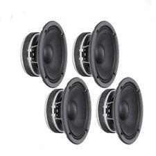 "4-Pieces Faital-Pro 6FE200 6"" Mid-Range 260-Watts Car Audio Woofer Speaker 4-Ohm"
