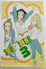 """SDCC 2014  EXCLUSIVE    SOUL EATER NOT! 3      Promotional  Poster 17"""" x 11"""""""