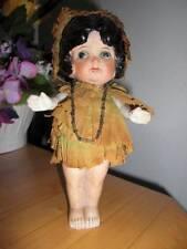 "Japan ~ Antique Bisque Flapper Doll 7"" Original"