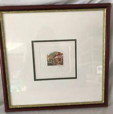 STEPHEN WHITTLE -Framed Signed Original Etching - RISING SUN HOTEL - 1997COA
