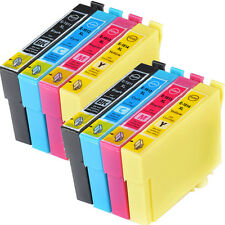 8-Pack 18XL Compatible Epson Expression XP-102 Ink Cartridges (NON OEM)