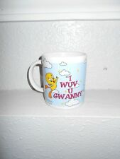 Looney Tunes Tweety Coffee Mug (I Wuv U Gwanny)