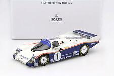 Porsche 962 C #1 winner 24h Lemans 1986 Bell, teatro, Holbert 1:18 norev