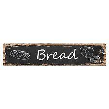 SP0025 Bread Street Sign Bar Store Shop Pub Cafe Home Room Shabby Chic Decor