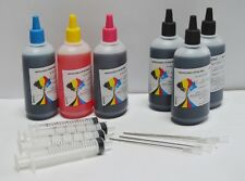 Bulk 600ml refill ink for Brother inkjet printer 4 colors