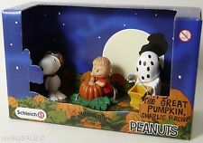 Schleich PEANUTS Halloween Scenery It's The Great Pumpkin, Charlie Brown Snoopy