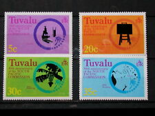 TUVALU '1977 *MH 46/49 YT 5 EUR SOUTH PACIFIC COMMISSION,SCIENCES,TECHNIQUES