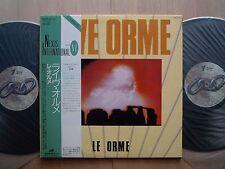 LE ORME LIVE 2LP ITALY PROG ITALIAN